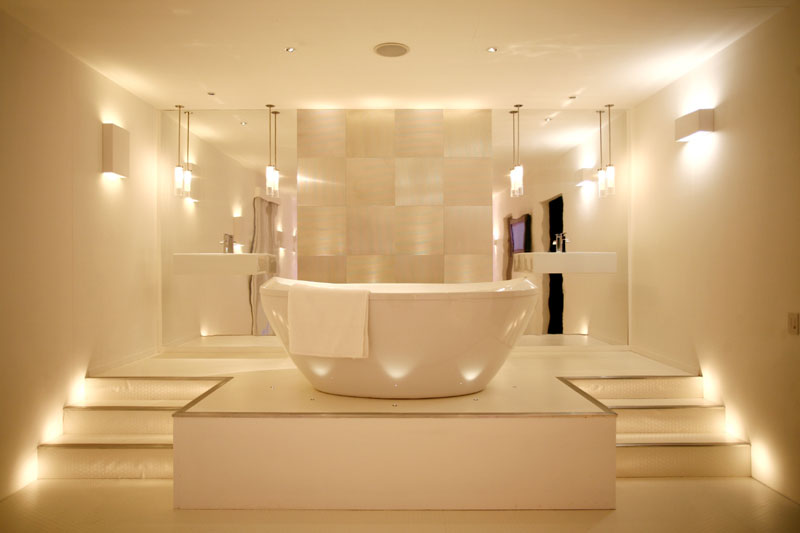 Top 10 must haves for a luxury bathroom happho lights in bathroom aloadofball Choice Image