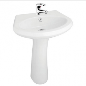 Hindware Neo Largo 10103 Pedestal Basins