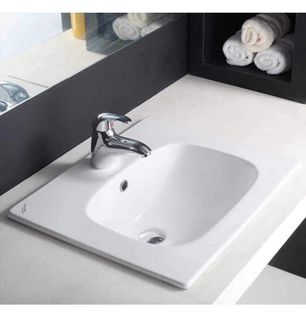 Hindware Optra 91008 Counter Top (Self Rimming) Basins