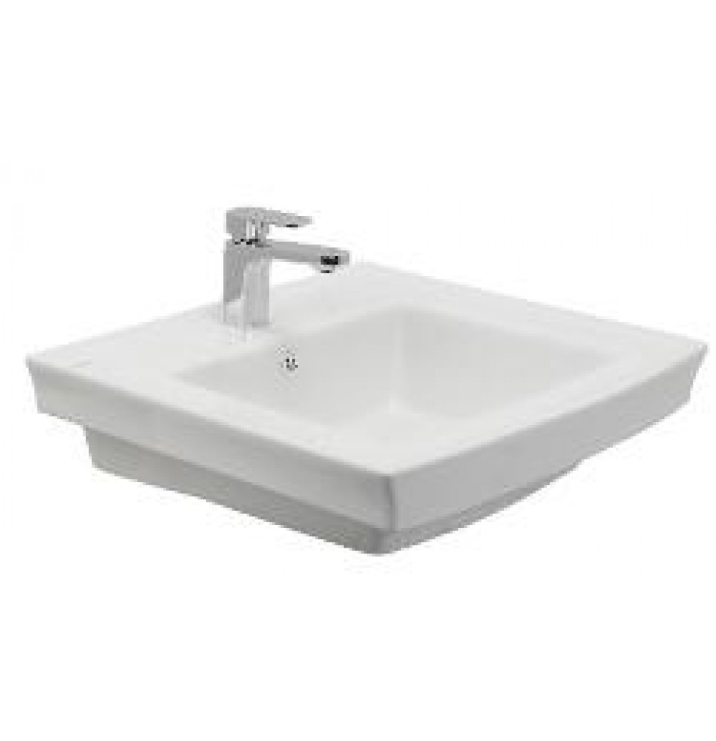 CERA CHITTO 1209 Counter Top Semi Recessed Wash Basin