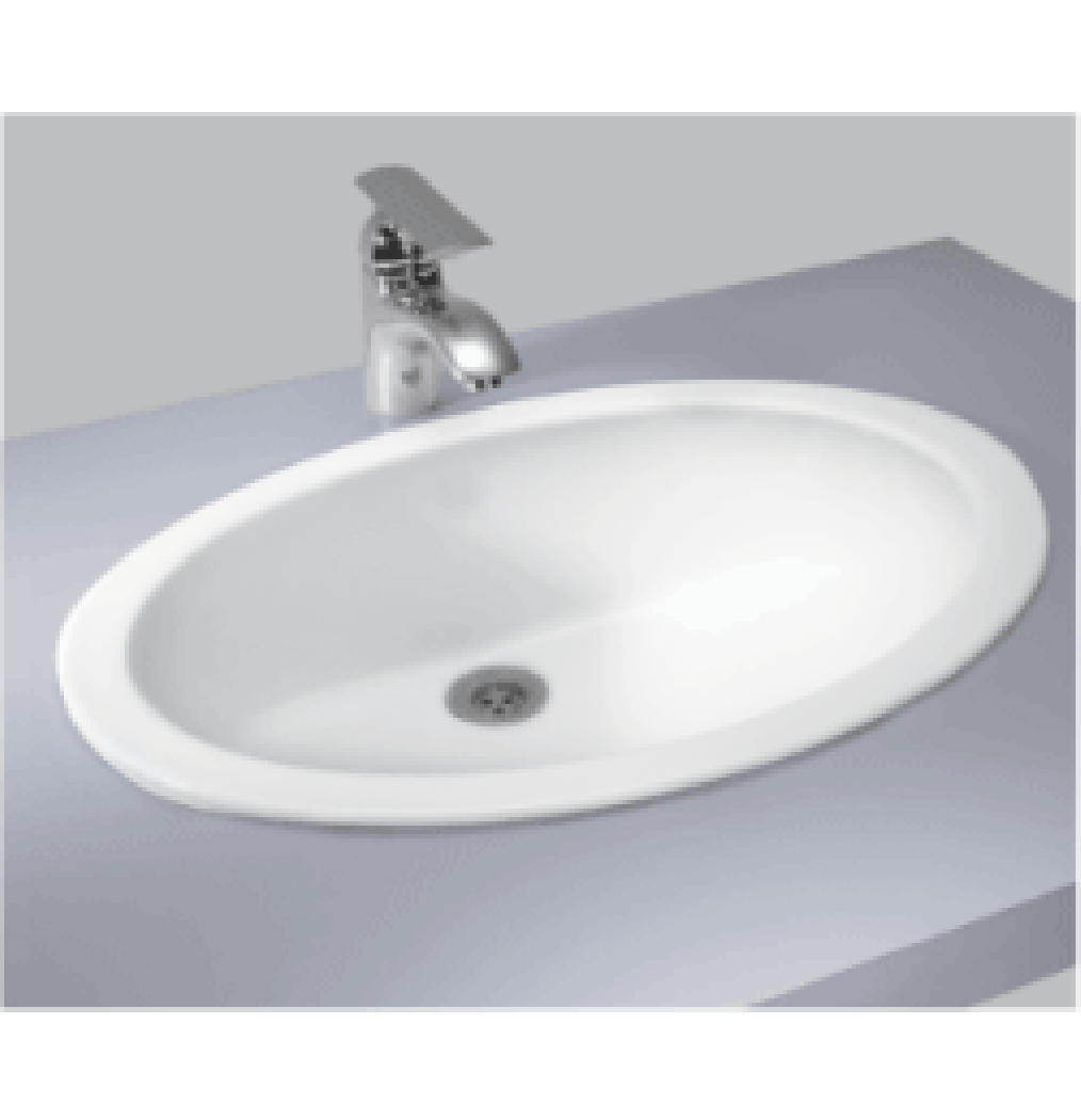 CERA OVAL 1005A Under / Over Counter Wash Basin