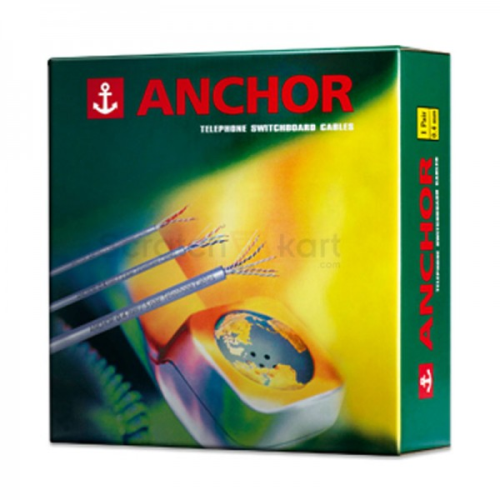 Anchor Telephone Cable 0.4 mm (3 Pair), 90 meter pack