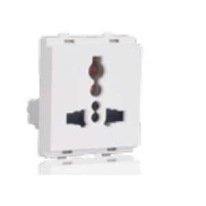 Schneider Livia 13A Multi Pin Socket Outlet with Shutter