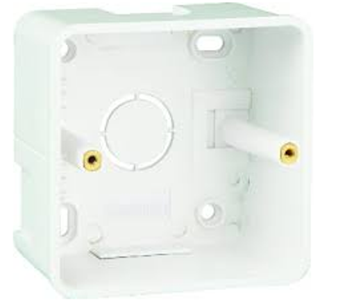 Havells Crabtree Athena 1/2 Module 3x3 Surface Mounting Plastic Boxes