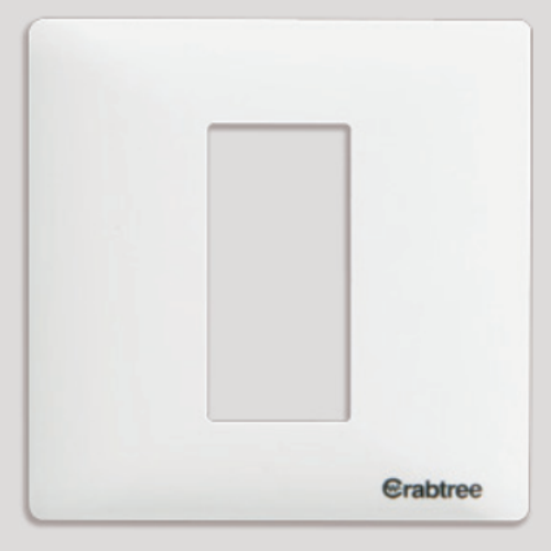 Havells Crabtree Athena 1 M Cover Plate Combined Plate
