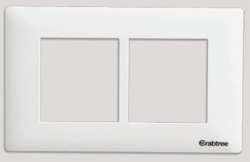 Havells Crabtree Athena 3 M Cover Plate Combined Plate