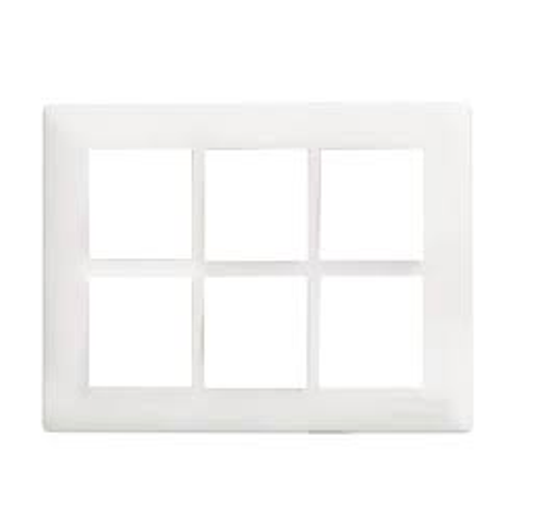 Havells Crabtree Athena 18 M Cover Plate Combined Plate