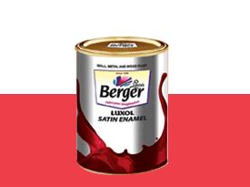 Get Best Quote for Berger Paints - Luxor Satin Enamel Online