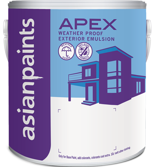 Get Best Quote for Asian Paints - Apex Weather proof Emulsion Online