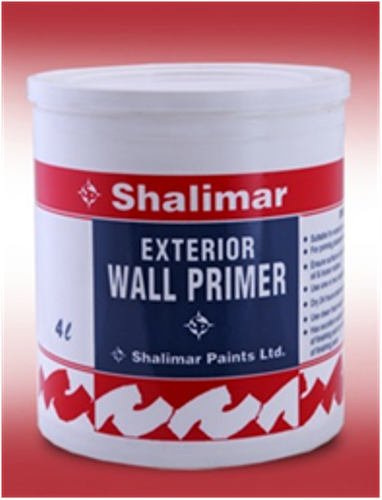 Get Best Quote for Shalimar Exterior Acrylic Wall PrimerOnline