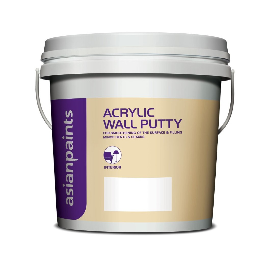 Get Best Quote for Asian Paints Acrylic Wall Putty - White Online