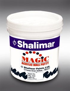 Get Best Quote for Shalimar Magic Acrylic Wall Putty Online