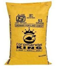 Get Best Quotes for Coromandel King OPC 43 grade Cement Online in India