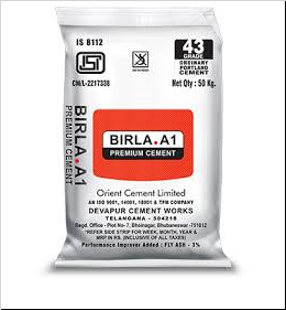 Get Best Quotes for Birla A1 OPC 43 Grade Cement Online in India