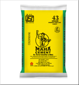 Get Best Quotes for Mahagold OPC 43 Grade Cement Online in India