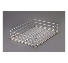 Get Quotes for Ebco Kitchen Accessories Right Angle Basket 430mm X 505mm X 200mm in India