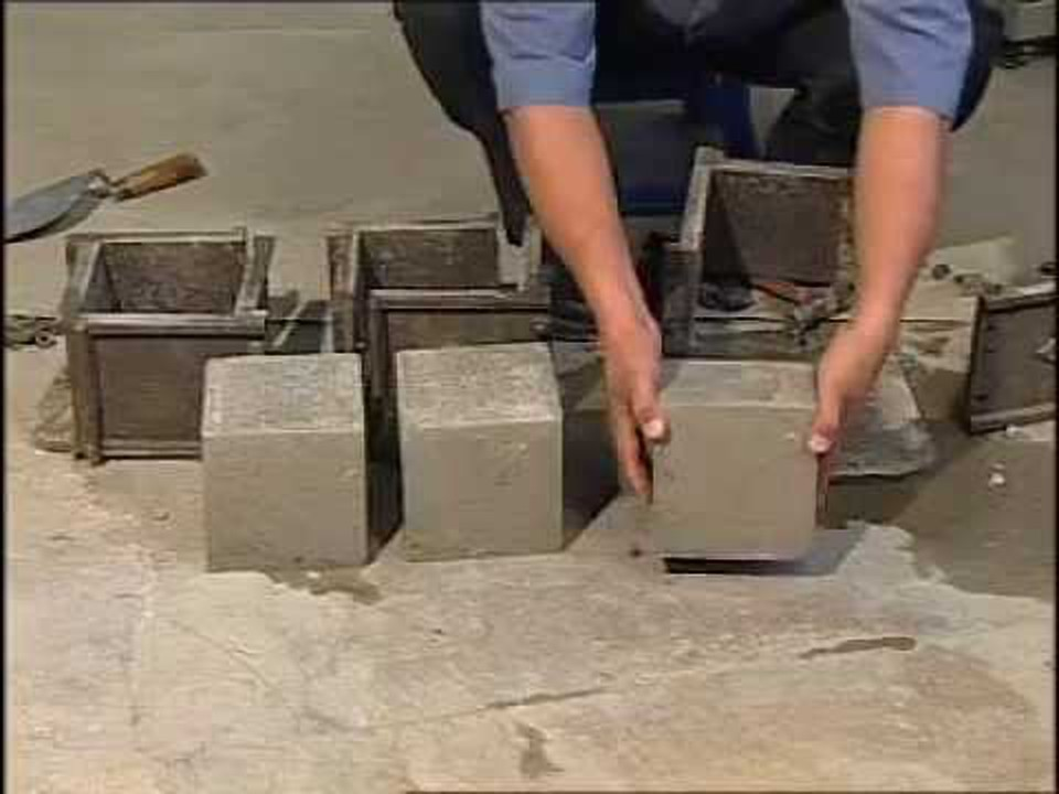 how to make grout cubes