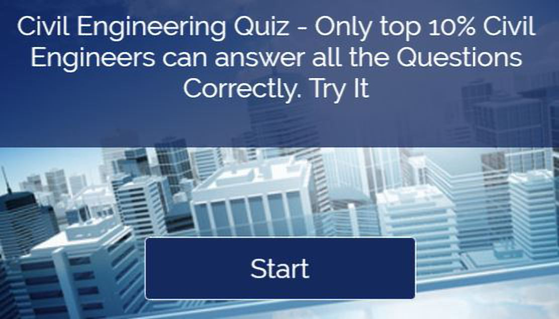 Civil Engineering Quiz 1