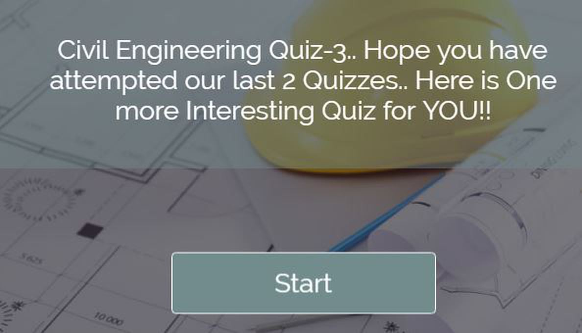 Civil Engineering Quiz 3