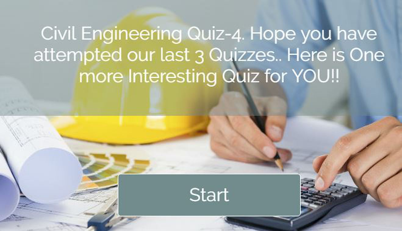 Civil Engineering Quiz 4