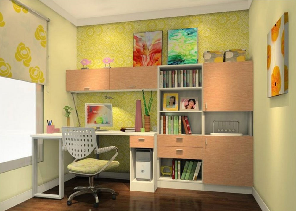 7 tips and ideas to effectively design your study rooms for Room interior design for teenagers