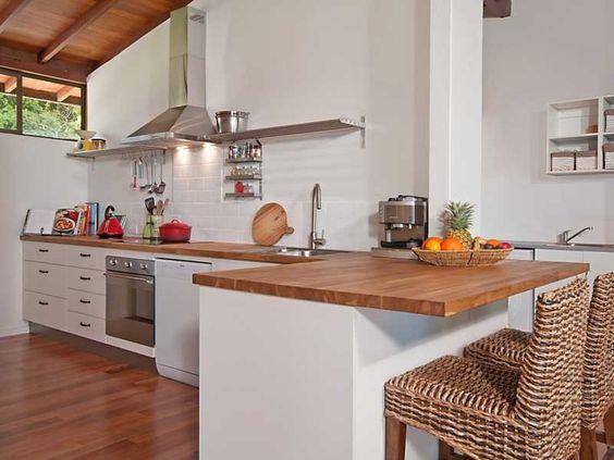 Rectangle Shaped Kitchen Layout