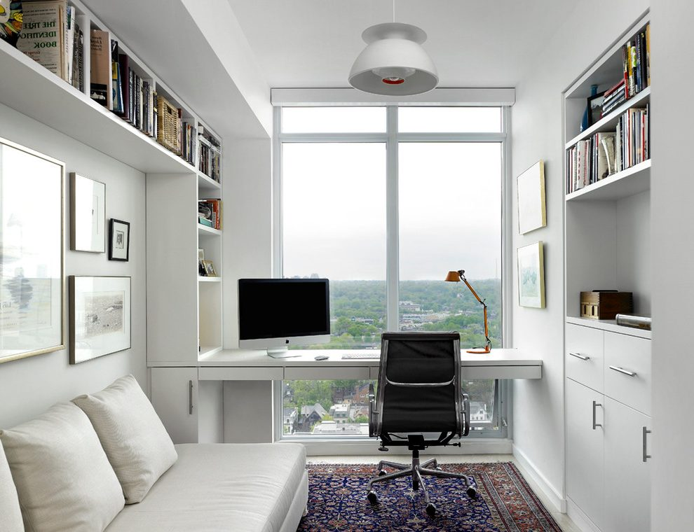 7 tips and ideas to effectively design your study rooms Study table facing window
