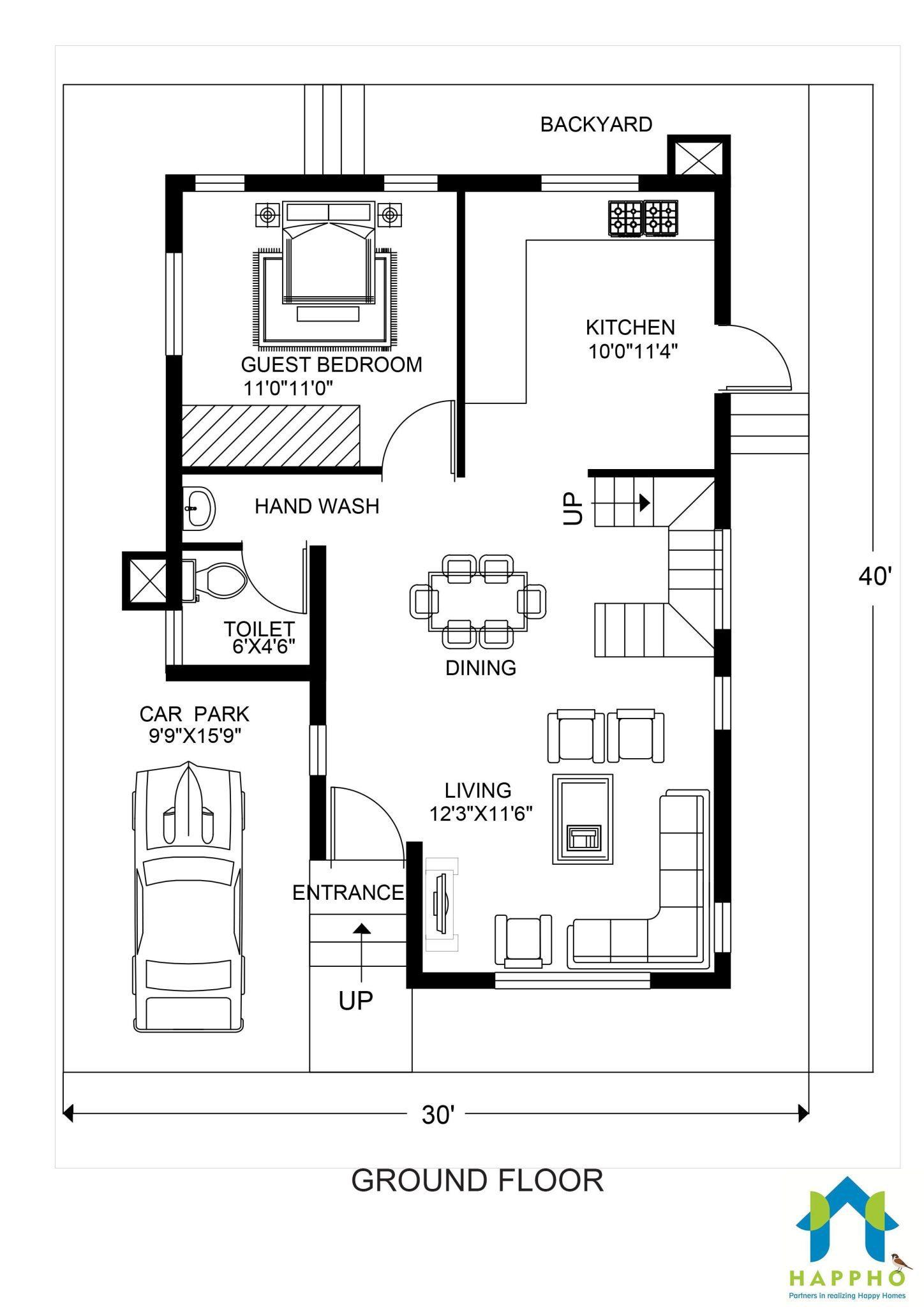 40x30 Garage Plans
