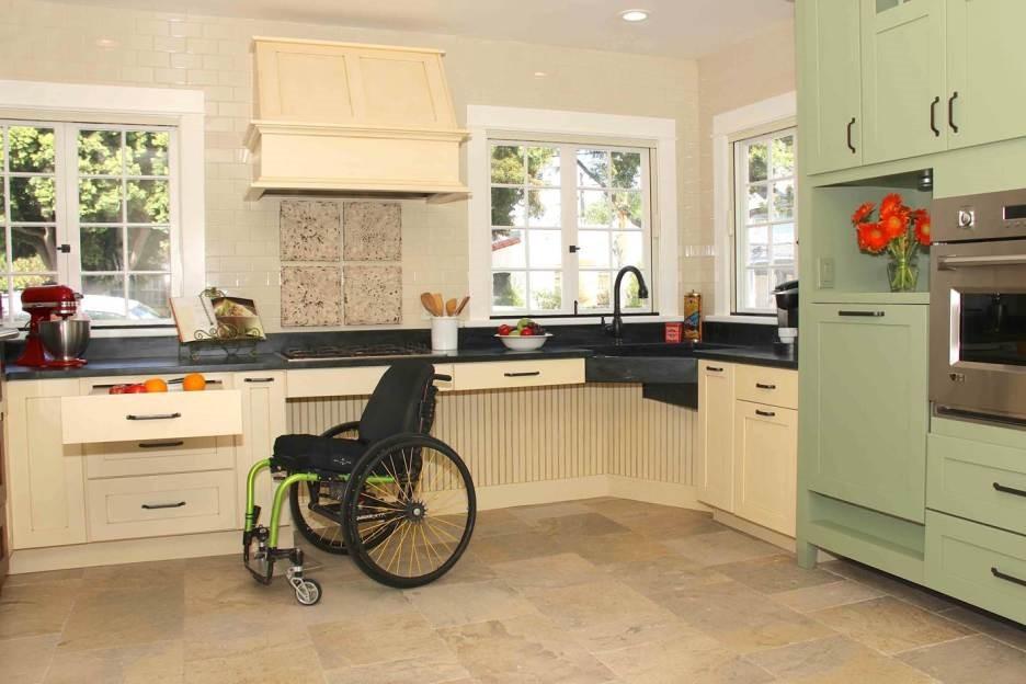Barrier Free Interior   Kitchen Area