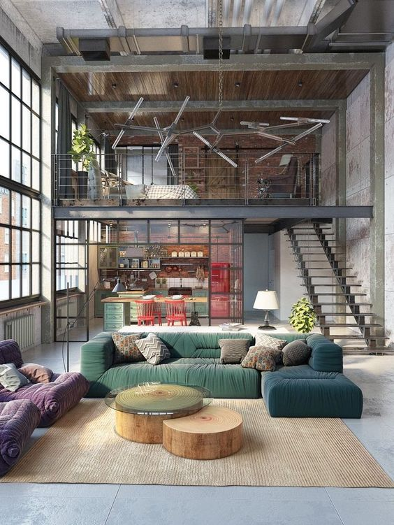 Choosing Rustic Industrial Colors to gear up the space