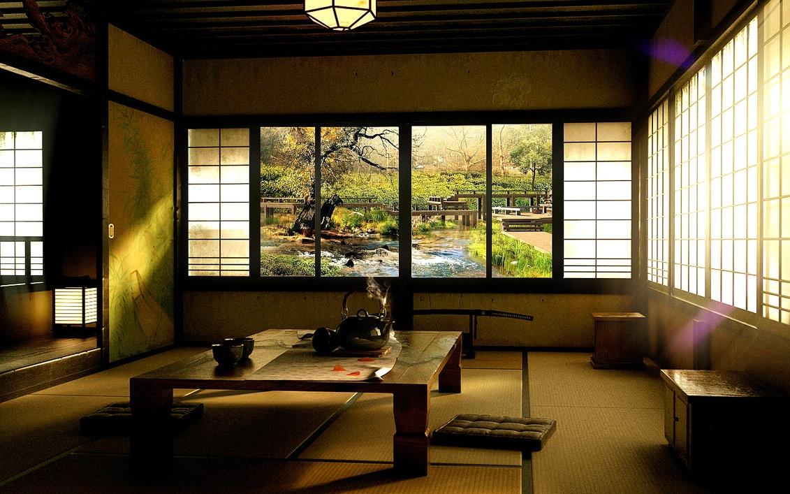 12 Oriental Dining Room