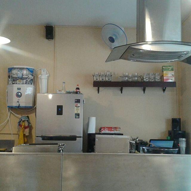 Bohemian Kitchen - Inside Kitchen View