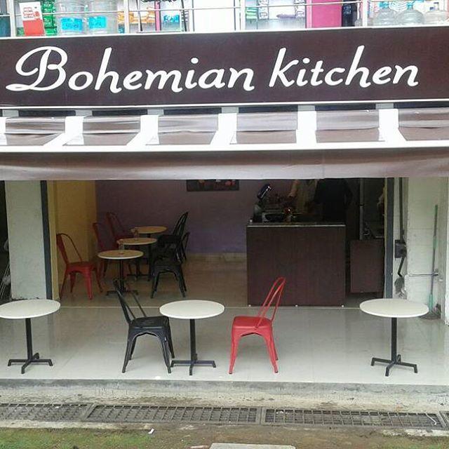 Bohemian Kitchen - Outside view