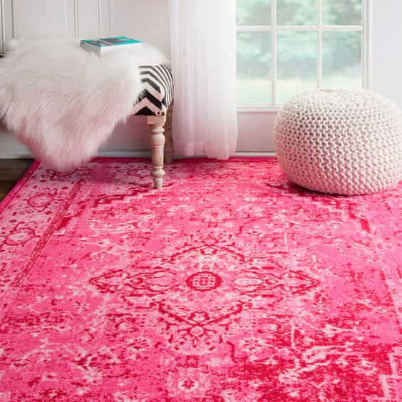 Synthetic rugs - made of nylon, propylene, synthetic latex and hybrid rubber