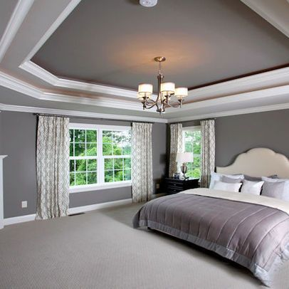 Tray ceiling color ideas modern ceiling colors