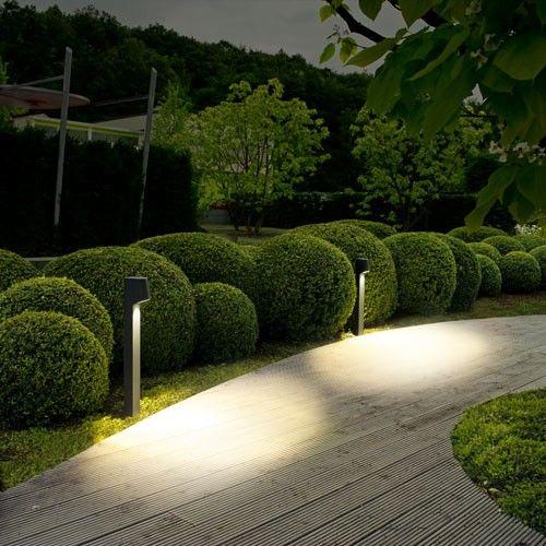 Lighting in Garden Walls