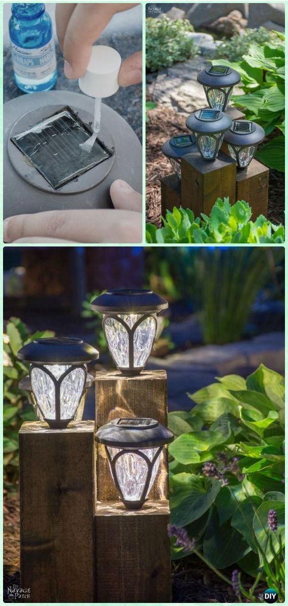 Solar Landscape Lighting in Garden area