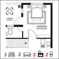 20X30 Ghar-002 Floor Plan-1
