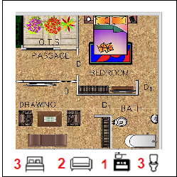 22X35 Ghar-007 Floor Plan Small jpg