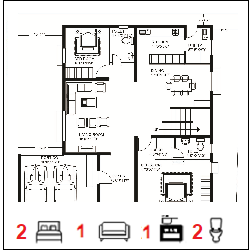 50 X 50 Ghar Floor Plan
