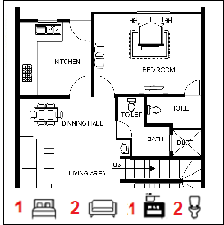25X60 Ghar-019 Floor Plan Small jpg