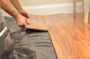 Joining Wooden Planks to create wooden Flooring