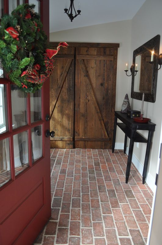durable and long-lasting Brick Flooring