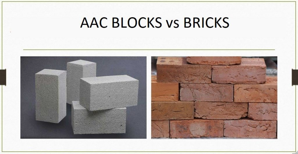 Why AAC blocks are preferred by builders rather than Red clay bricks