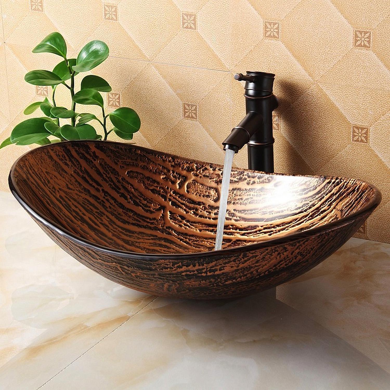 tempered-glass-hot-melt-multicolor-pattern-vessel-sink
