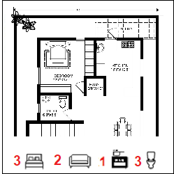 30X50 Ghar-038 Floor Plan Small jpg