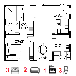 38X48 Ghar-049 Floor Plan Small jpg