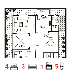 45X68 Ghar-059 Floor Plan Small jpg