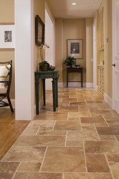 Travertine flooring requires lot of maintenance