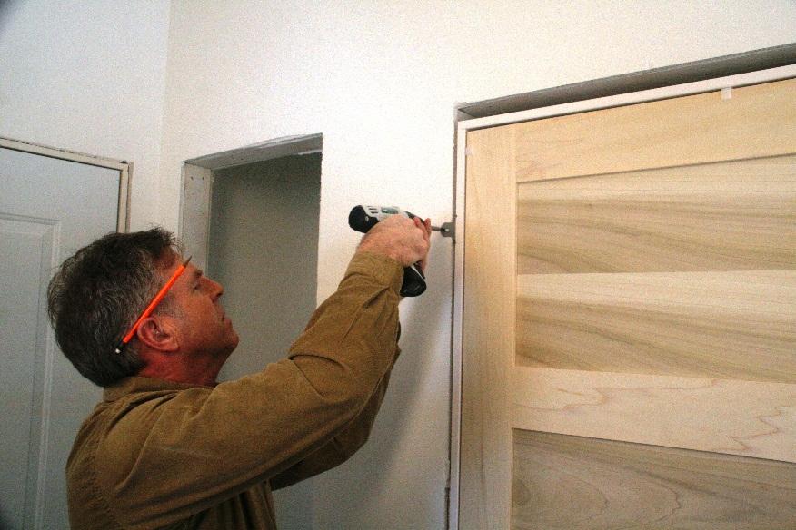 How To Install A Door Frame Amp Door Happho